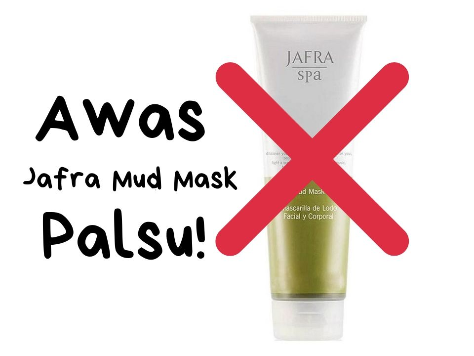 Jafra Mud Mask Palsu