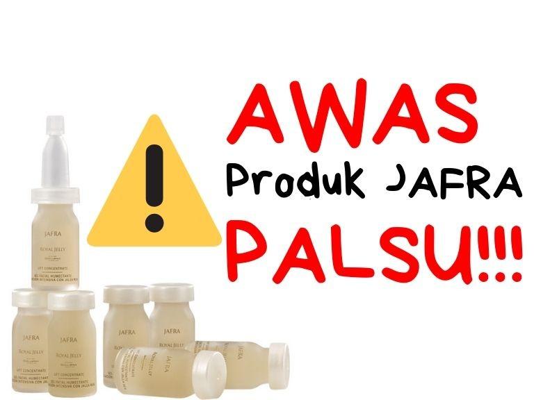 Produk Jafra Palsu
