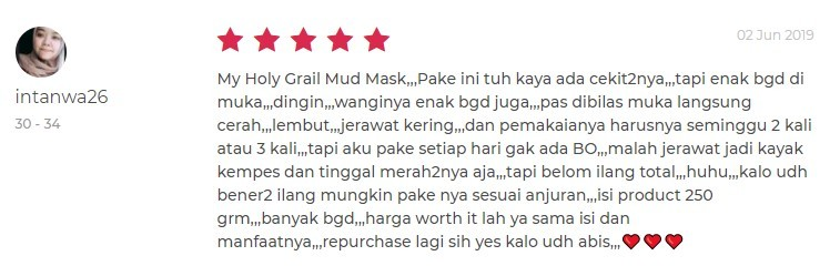 Review Jafra Mud Mask_3